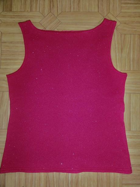 Tričko jemne trblietavé, 128