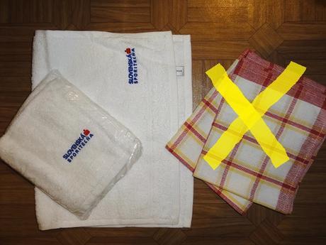 Utierky, froté uteráky  ,