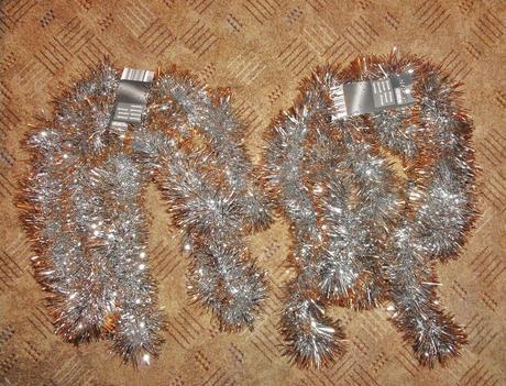 Vianočná retaz na stromček,