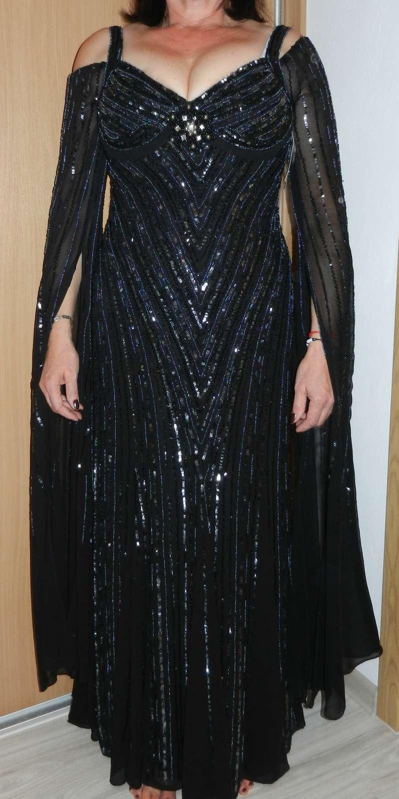 72fe7ff0fe94 Luxusné spoločenské šaty heine - čierne