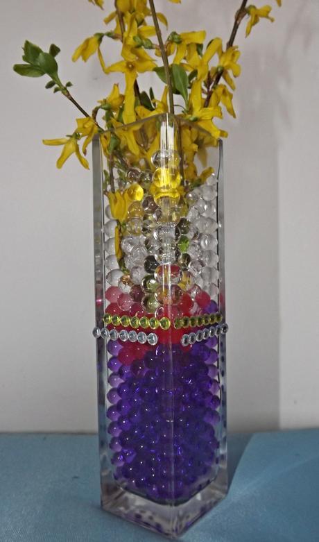 Vodné guličky ako svadobná dekorácia,