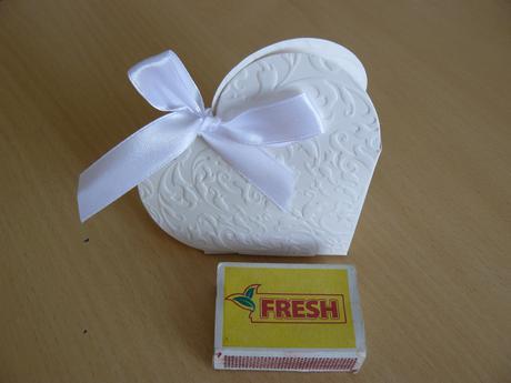 Srdiečkové krabičky na darčeky pre hostí,
