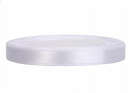 biela stužka 6 mm,