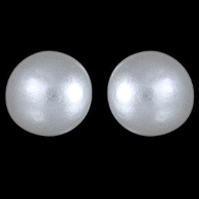 Biele perličky zapichovačky,