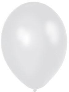 Biely perleťový balón,