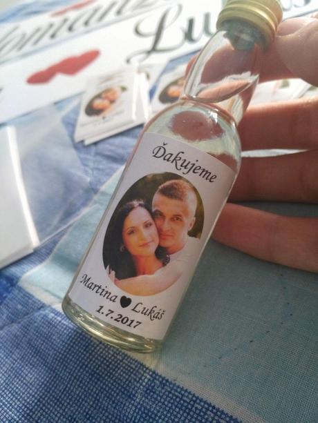 Etikety na fľaštičky,