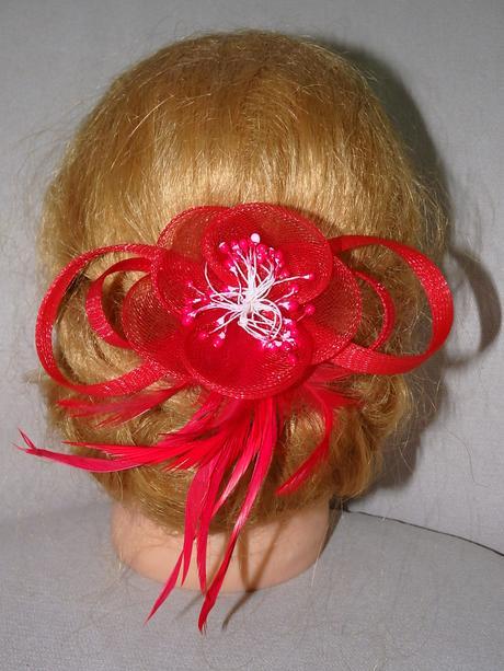 fascinátory - kvety do vlasov,