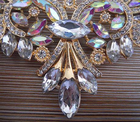 Mohutný luxusný náhrdeník,