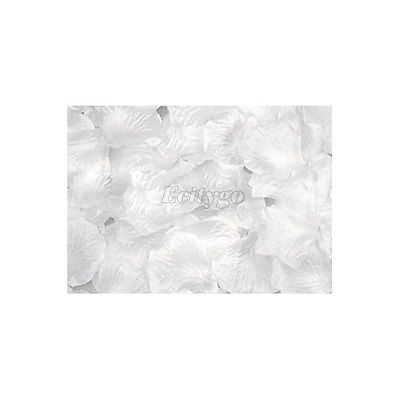 Svadobné lupienky z ruže - biele,