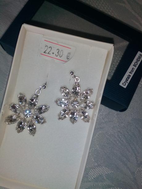 svarowski a jablonecké šperky postriebrené,