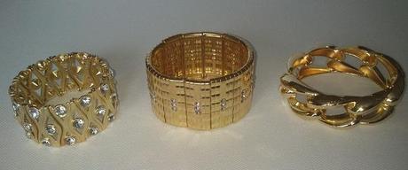 Zlaté náramky,