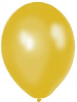 Zlatý metalický balón,
