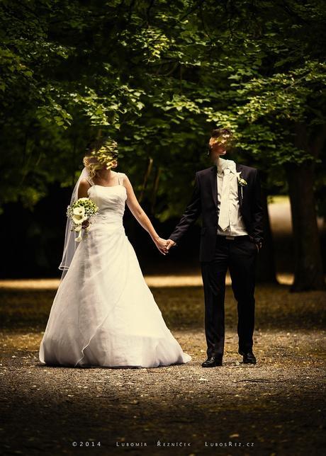 Svatební šaty - dovoz USA, 38