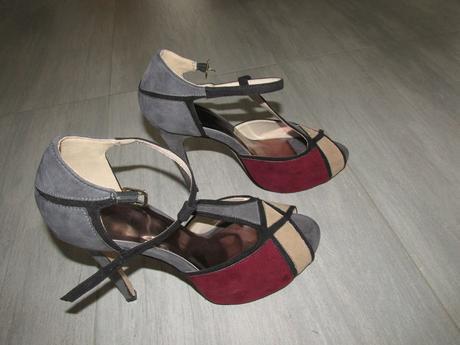 Plesové sandály, 39