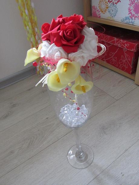 Váza s kyticí,