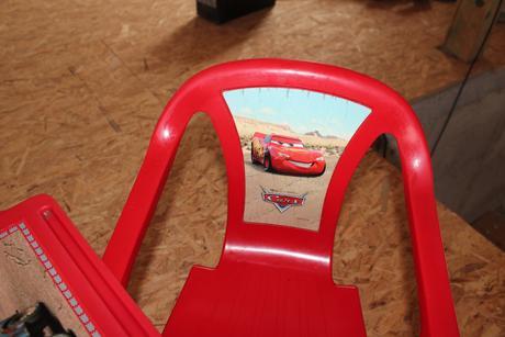 stoleček židličky cars ,
