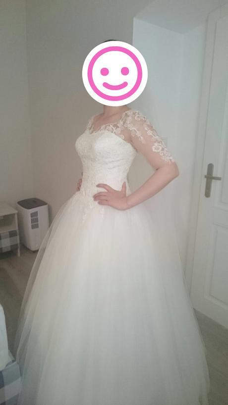 Predávam svadobné šaty od Natasha Azariy 38-40, 40