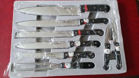 nože z nerezovej ocele,