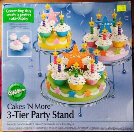 stojan na torty, zákusky, koláče a i.,