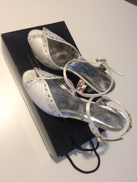 svadobné topánky rose scent bridal shoes paris, 39