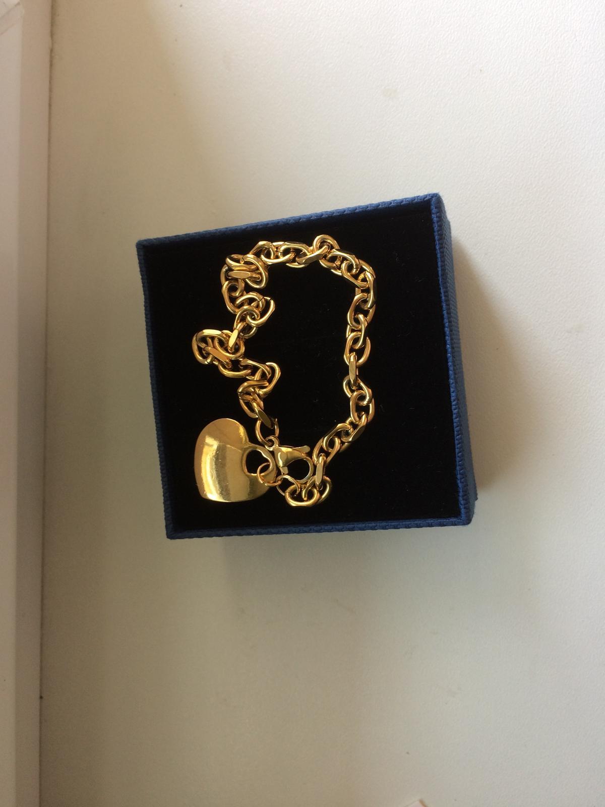 831196b7c Zlatý náramok chirurgická oceľ, - 6,50 € | Svadobný bazár | Mojasvadba.sk