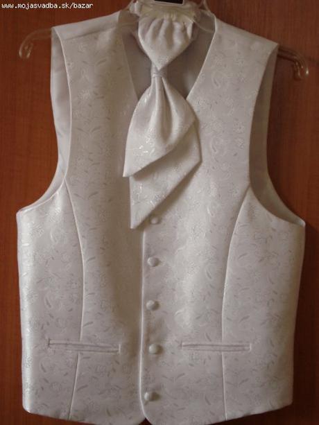 vesta + francuzska kravata + vreckovka, 50