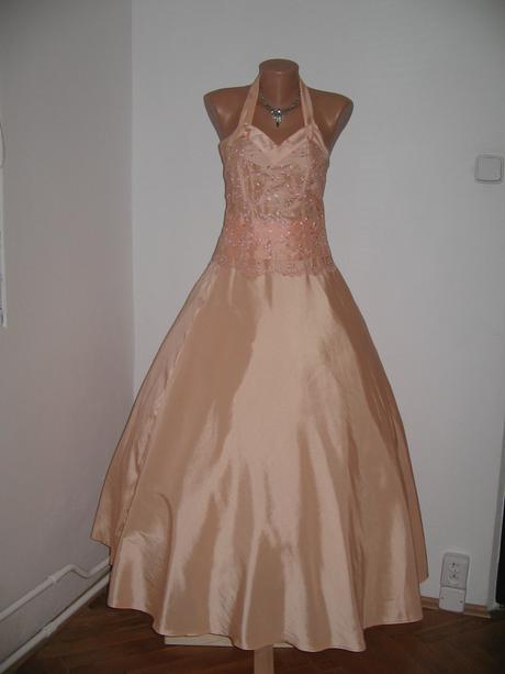 Společenské, korzetové šaty, 38