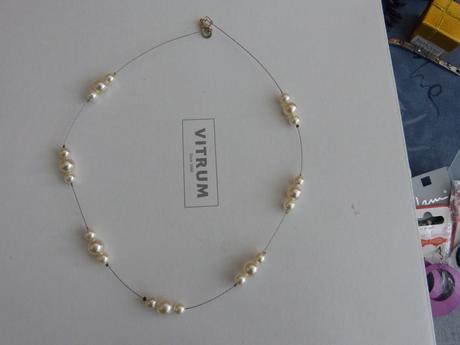 Perličkový náhrdelník pro nevěstu,