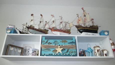 dekoračný uložný diel meer a marine,