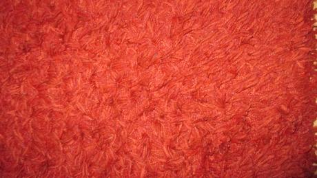 hnedý a vínový koberec 140x200,