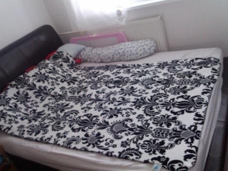 luxusná kožená postel 160x200,