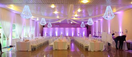 Osvetlenie na svadbu - Prenájom,