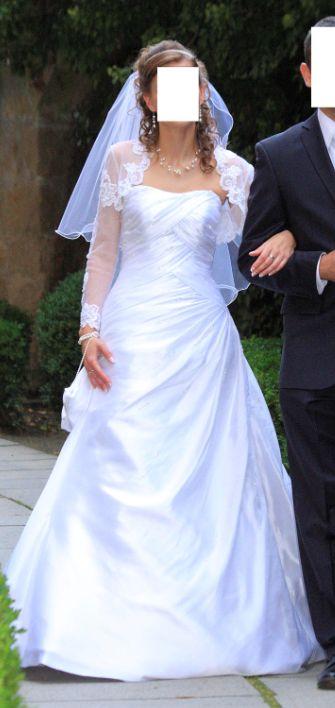 Svadobné šaty La Sposa Fiesta 36, 36