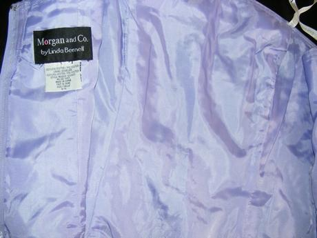 korzet fialový , XL