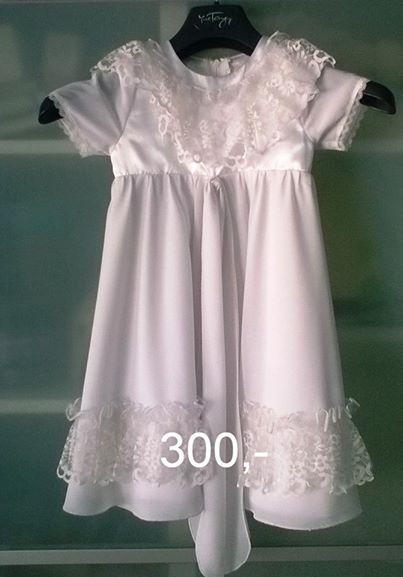 Dívčí šatičky s krajkou, 86
