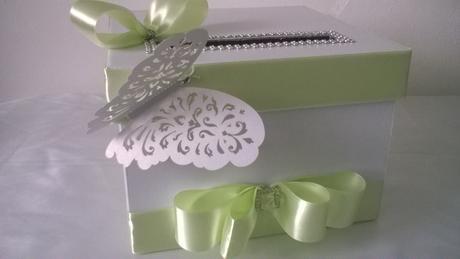 Krabička na svatební přání a peníze,