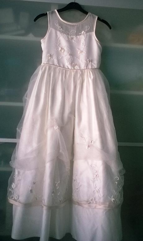 Luxusní šaty pro družičku , 128