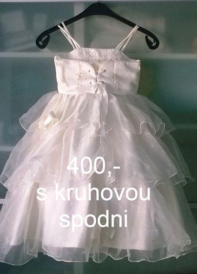 Šaty pro družičku 7-10 let, 128