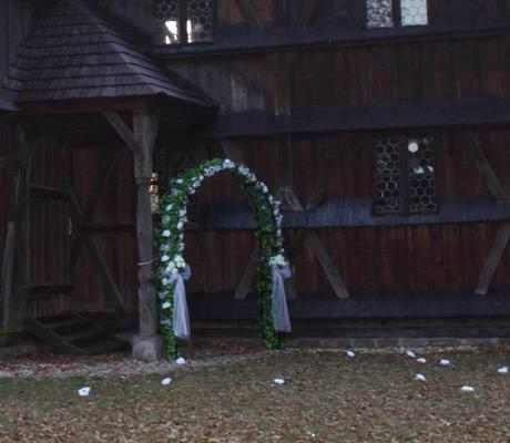 Pronájem - Svatební slavobrána,