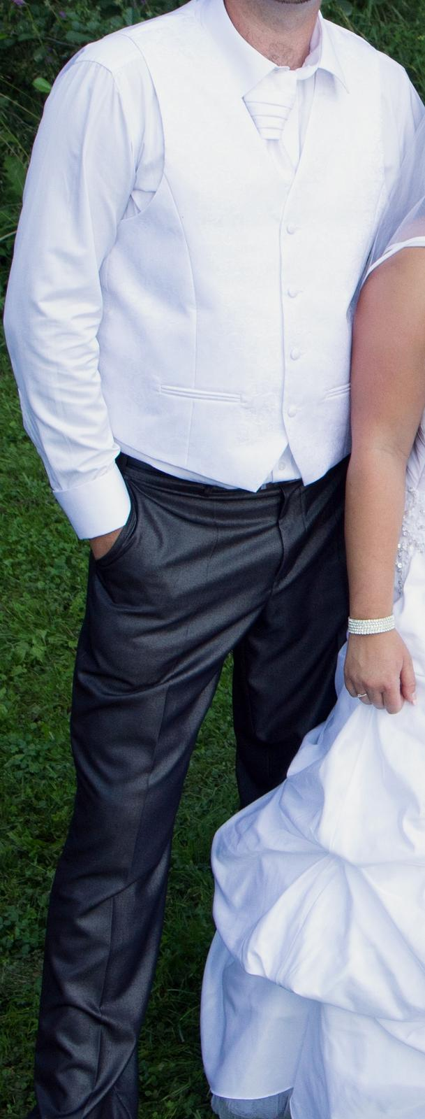 Svatební košile na manžetové knoflíčky c936293a98