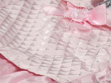 růžové šaty, 152