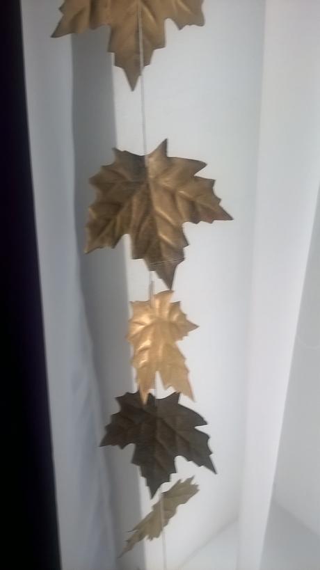 Jesenná girlanda,