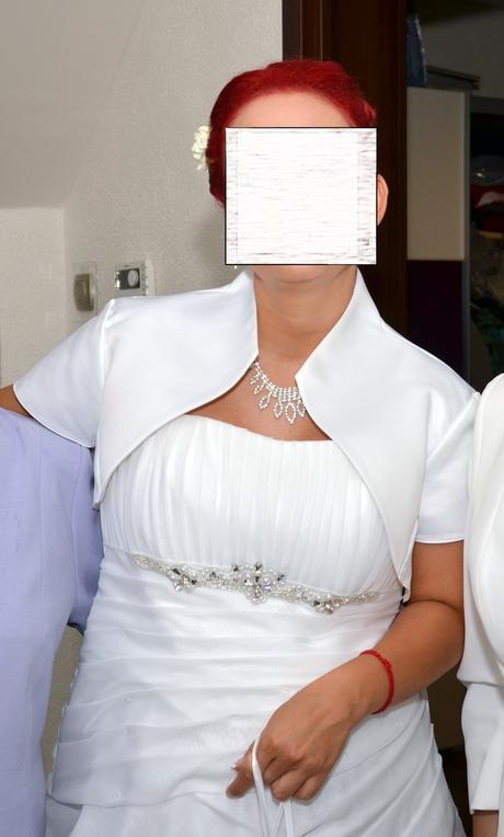Svadobné šaty aj pre tehu 38-42, 38