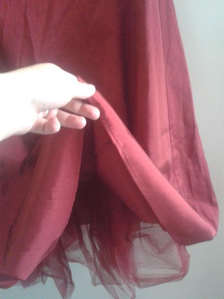 červené šaty pro družičky,svědkyni,společenské, 36