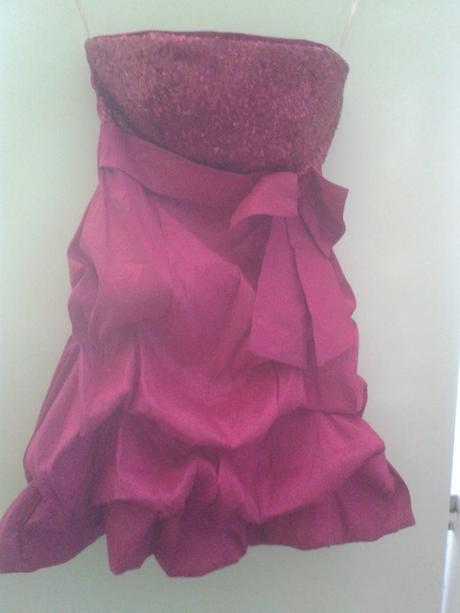 růžový šaty, 38