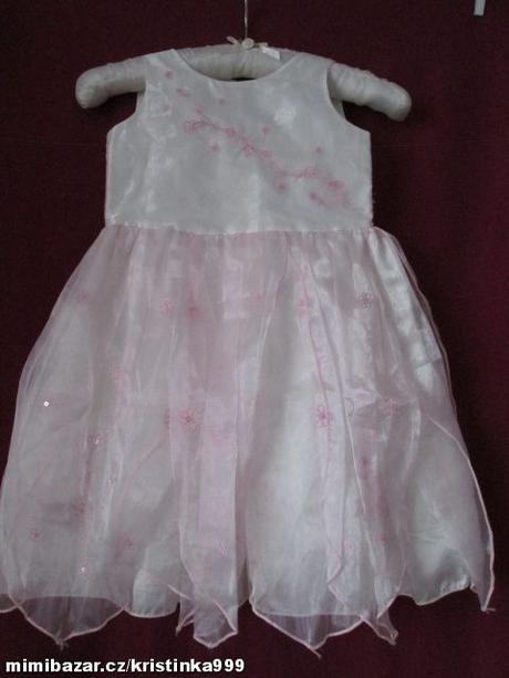 Společenské šaty vel. 1,5-2 roky, 92