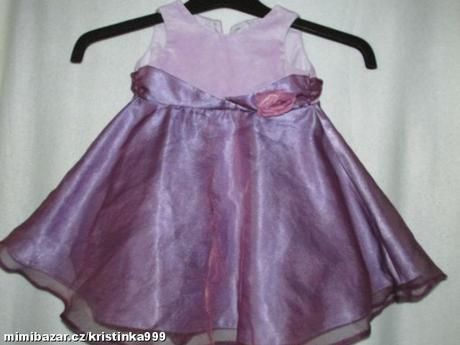 Společenské šaty vel. 3-6 měsíců, 68