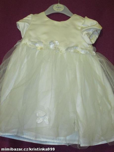 Společenské šaty vel. 9-12 měsíců, 80
