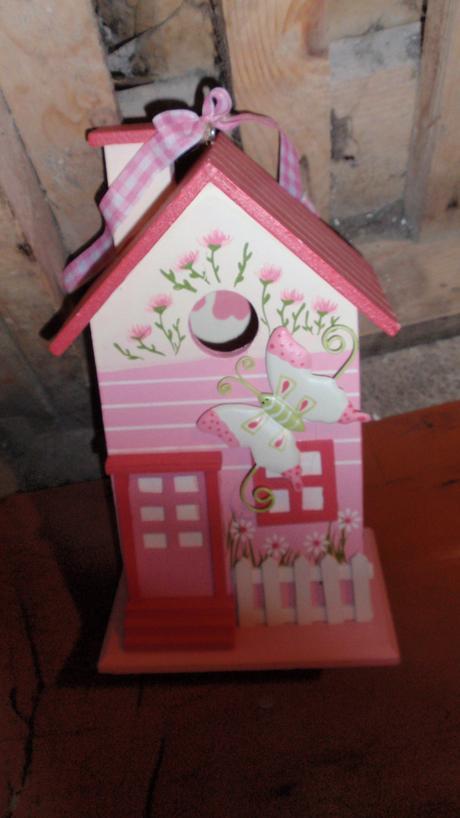 Dřevěný domeček,