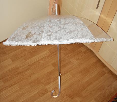 Biely dáždnik,